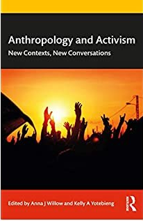 book cover for anthropology and activism