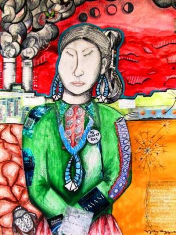 """""""Sodizin"""" by Venaya J. Yazzie"""