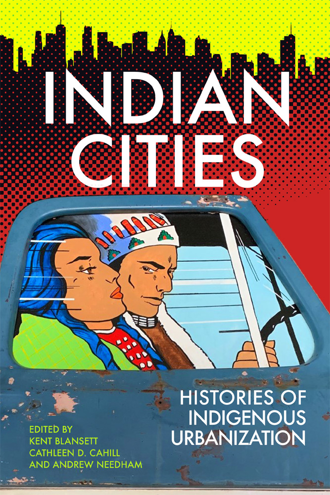 Indian city book cover